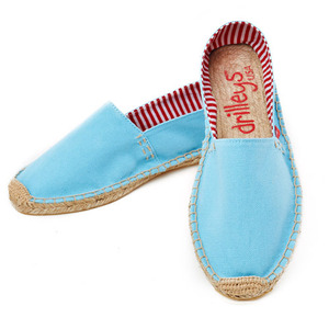 Chambray Blue Espadrille