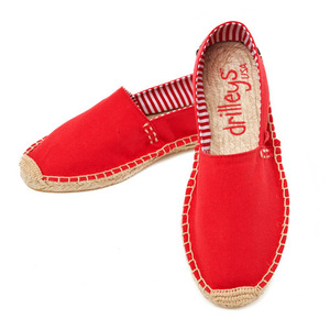 Primary Red Espadrille
